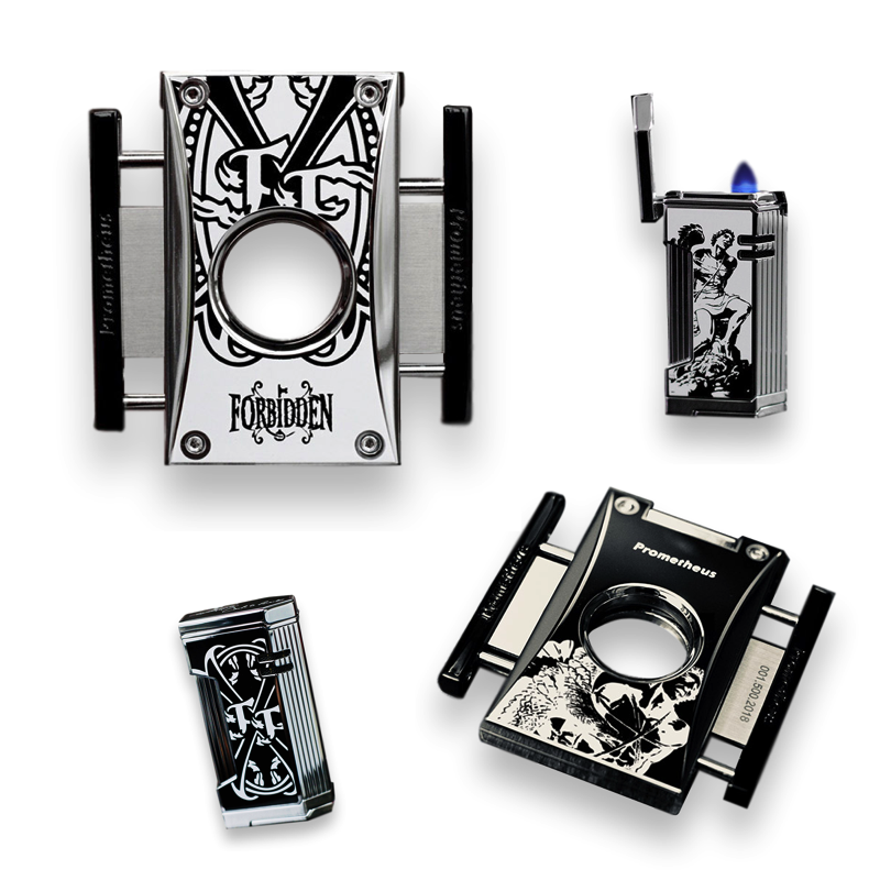 Northwoods Humidors Prometheus Magma T Magma X Lighters Cutter-H Limited Edition Series