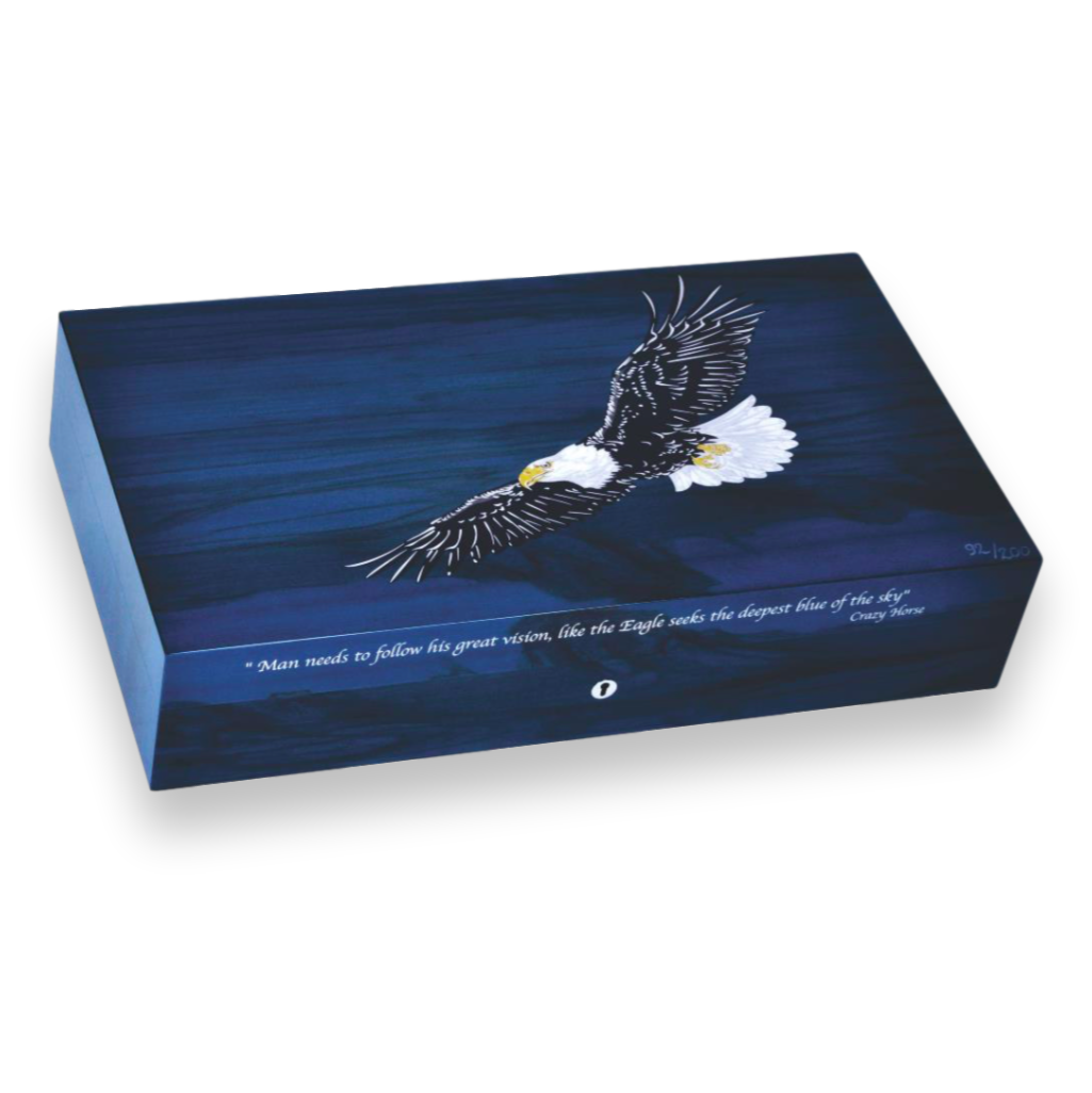 Northwoods Humidors Elie Bleu Eagle Cigar Humidor Limited Edition Series
