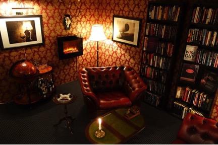 The Custom Built Cigar Room