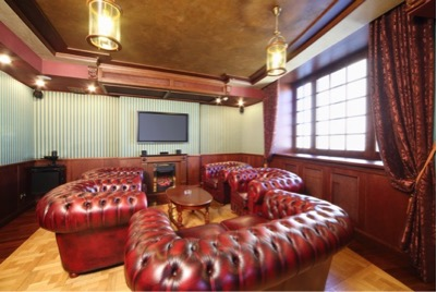 The Luxury Home Cigar Room